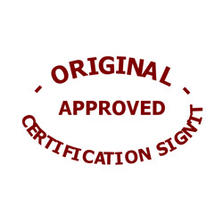 Tampon Certification Qualité