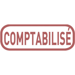 Tampon Comptabilisé