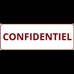 Tampon Confidentiel
