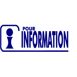 Tampon Pour Information