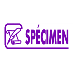Tampon Spécimen